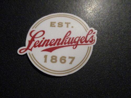 LEINENKUGELS Leine Est 1867 Logo STICKER decal craft beer brewery brewery
