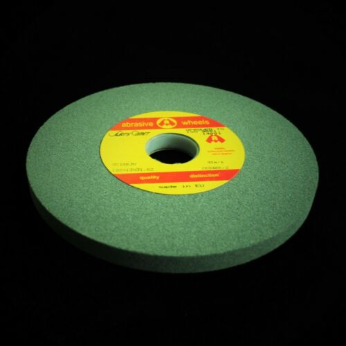 "180mm x 20mm 7/"" Green Grit Bench Offhand Grinding Wheel Grinder Toolroom FINE"