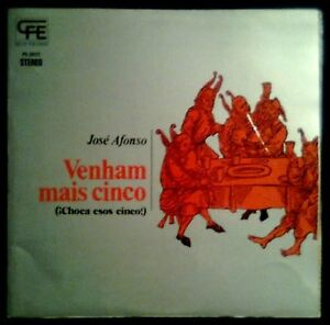 JOSE-AFONSO-Venham-Mais-Cinco-SPAIN-LP-Poplandia-1974-Near-Mint-Gatefold