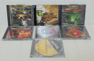Command & Conquer Lot 7 Games Tiberian Squad, Red Alert, Generals Jewel Cases