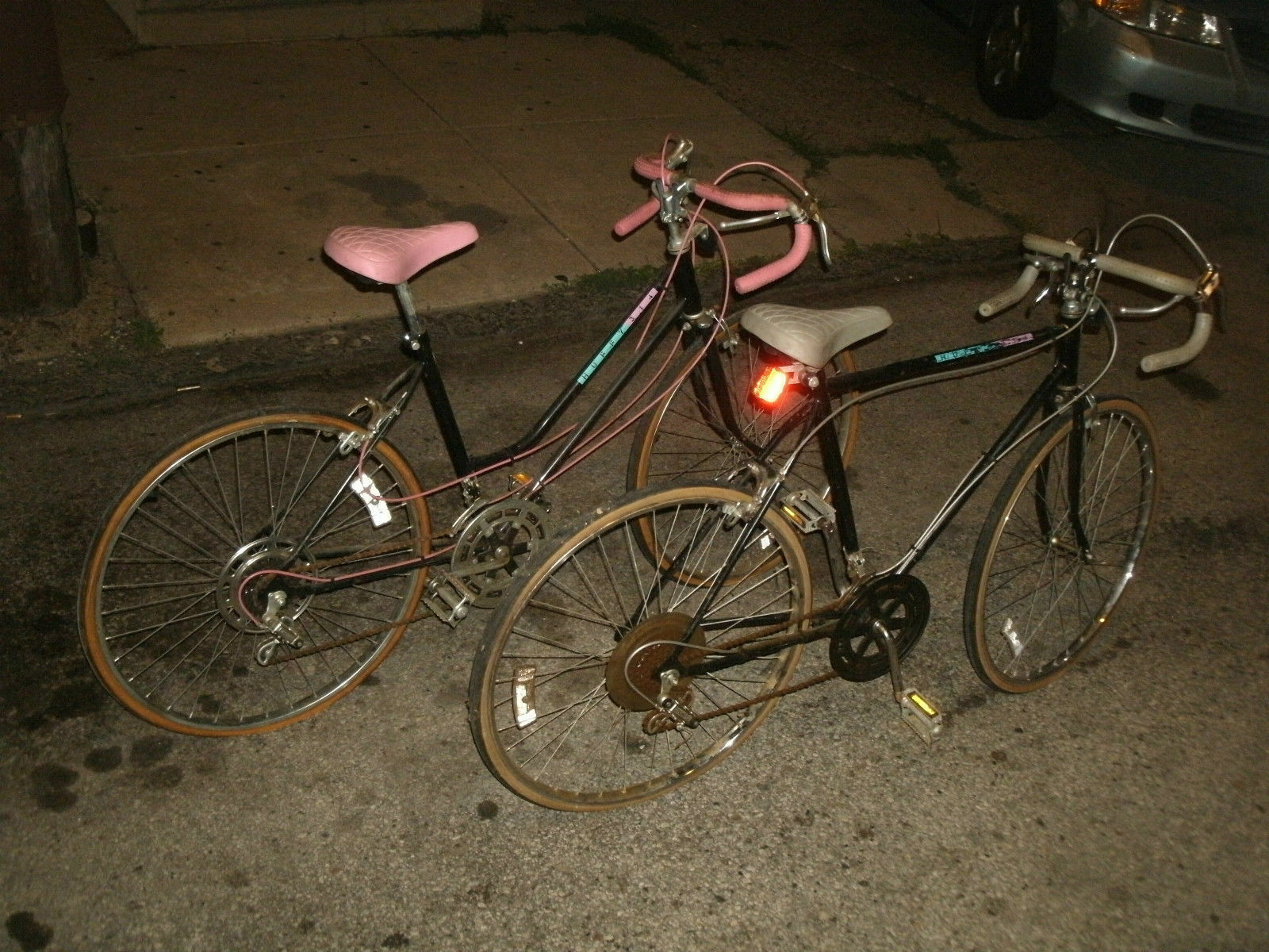 Tandem Style Huffy 314 Vintage 1960s-70s Nice  Pair Sports Bikes Bicicles  selling well all over the world