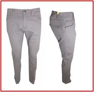 Caricamento dell immagine in corso Pantaloni-da-Uomo-slim-fit-jeans-in-di- 59e40973837