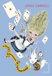 Alice-039-s-Adventures-in-Wonderland-Vintage-Classics-Carroll-Lewis-New-Book