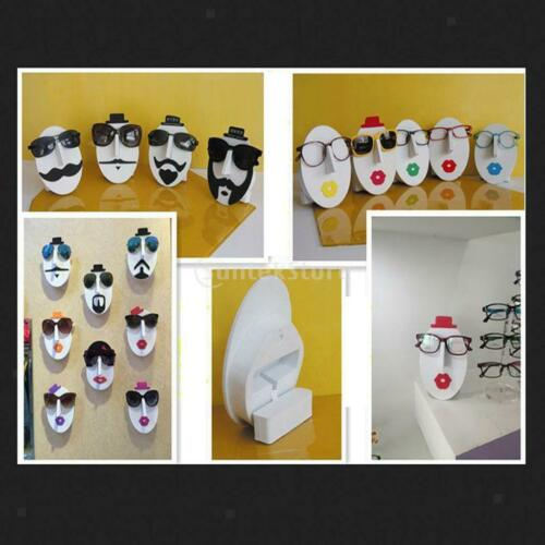 7x Female Face Sunglasses Spectacles Shop Display Stand Rack Organizer