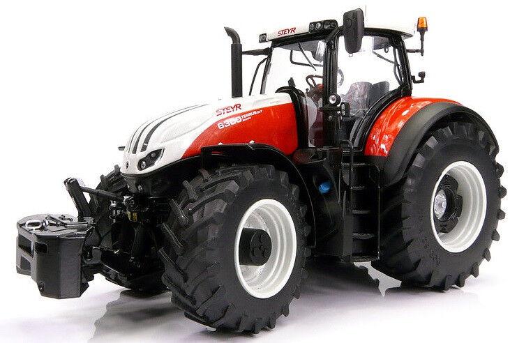 MAR1606 - Tracteur STEYR TERRUS 6300 CVT équipé du relevage avant avec masse - 1