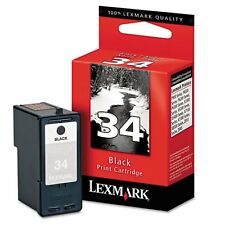 Lexmark 34 Black Ink Cartridge - 18C0034