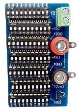 7 Decade Resistance Board 0 Ohm To 10 Meg Ohm 01 Accuracy 14 Watt