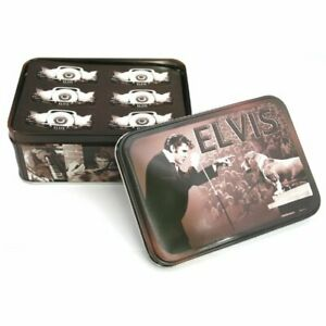 ELVIS-PRESLEY-HOUND-DOG-NOTE-CARD-STICKERS-amp-ENVELOPES-SET-NEW-IN-GIFT-TIN