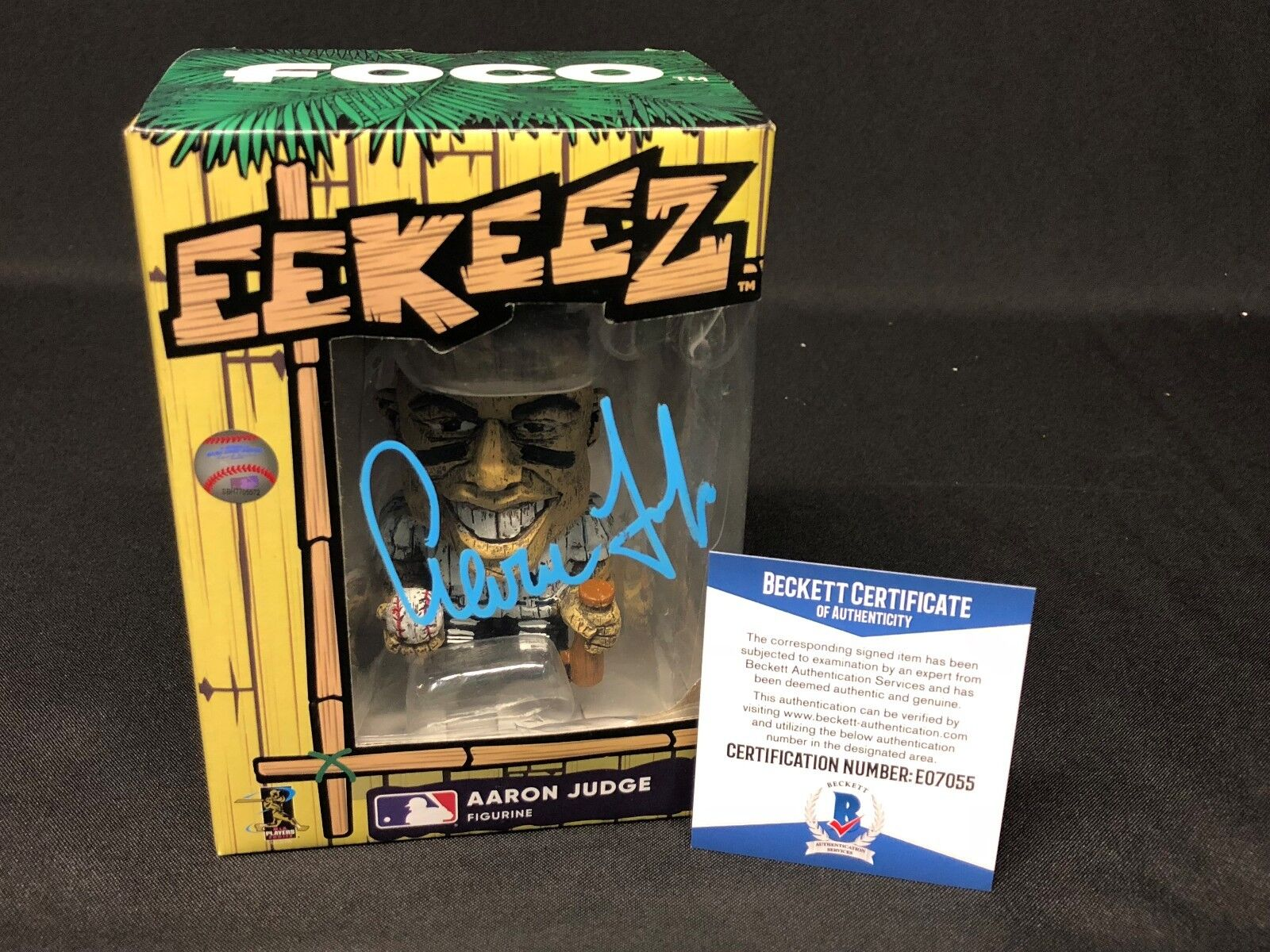 Aaron Judge Signed *New York Yankees Tiki Foco *Eekeez Baseball Figure bas 07055