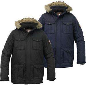 Brave-Soul-Childrens-Boys-Padded-Waterproof-Winter-Coat-School-Parka-Jacket