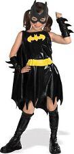 Girls Deluxe Batgirl Costume Superhero Justice League Halloween Size Medium 8-10