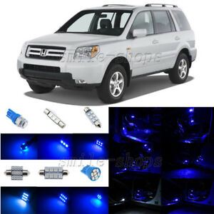 Image Is Loading 12pcs Blue Led Interior Lights Package Fit For