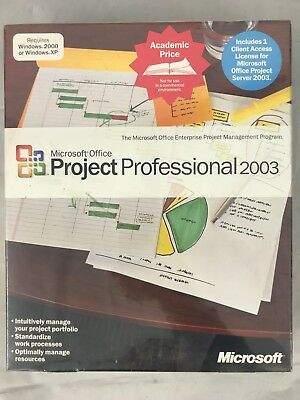 Microsoft office project professional 2003 buy online