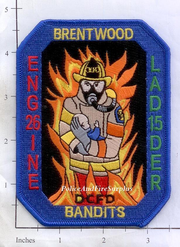 Washington DC Rescue 3 District of Columbia Fire Dept Patch Collapse Response2