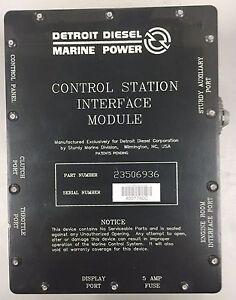 Details about Detroit Diesel 23506936, DDEC 2 5 Control Station Interface  Module CSIM