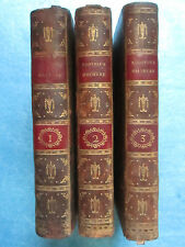 BITAUBE : L'ODYSSEE D'HOMERE, 1785. 3 volumes in-8 complet.