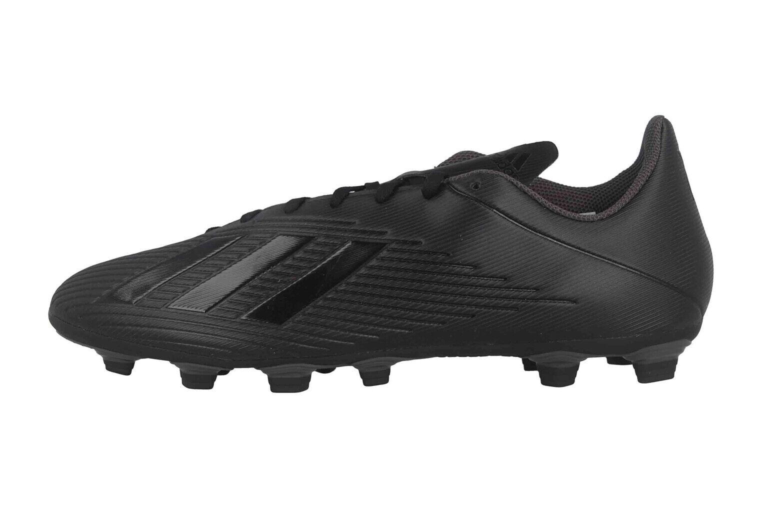 Adidas X 19.4 FxG Sportschuhe in Übergrößen Schwarz F35377 große Herrenschuhe
