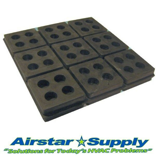 Sorbothane® SHEET 6X6x1//4IN VIBRATION ISOLATION RUBBER PAD 150x150x6mm SOFT 30D