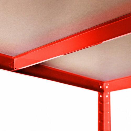 Garage Shed Racking Storage Shelving Units Boltless Metal Shelves 5 Tier Cheap