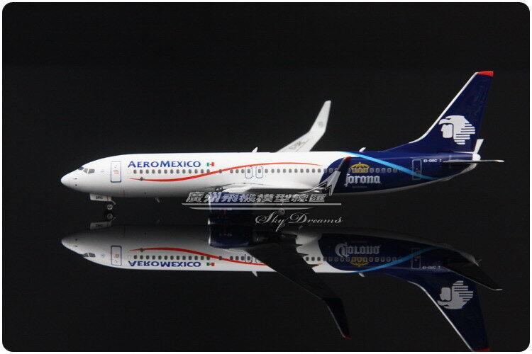 1 400 Phoenix Aeromexico Boeing 737-800 passenger airplane avion DIECAST MODEL