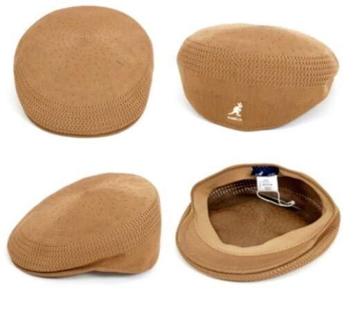 KANGOL Hat 504 Tropic Ventair Flat Cap 0290BC Summer Tan Sizes S XL