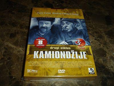 Kamiondzije II (The Truck Drivers II) (TV-Series) (3 x DVD 1978)