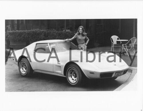 Ref. #36121 Factory Photo 1974 Chevrolet Corvette Sport Coupe