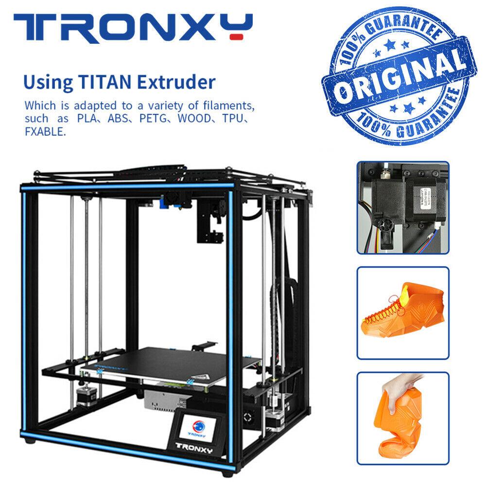 Original Tronxy 3D Printer Tronxy X5SA Pro Guide Rail Titan Extruder Big Printer