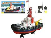 20 Radio Remote Control Electric Seaport Tug Boat Rc Working Boat R/c Rtr