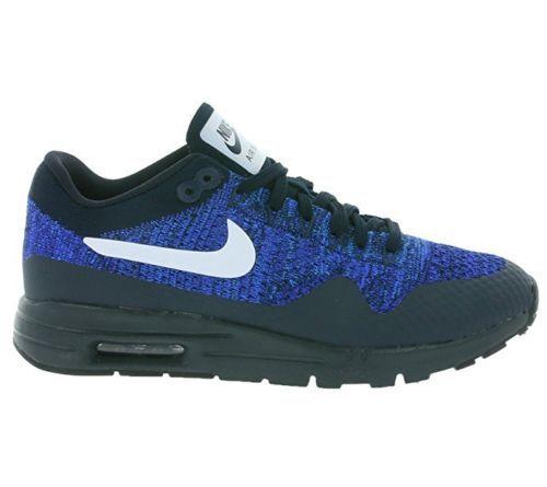 Nuevo En Caja Nike de de de mujer 7.5 Air Max 1 Ultra Flyknit 843387 401 Azul Zapatillas c9b861