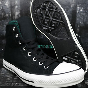 Converse CHUCK TAYLOR DUAL COLLAR BLACK ALPINE MEN'S SKATE SHOES ...
