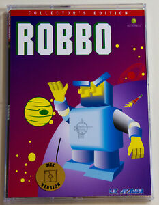 ROBBO-for-Atari-XL-XE-LK-AVALON-Collector-039-s-Disk-version-brand-new