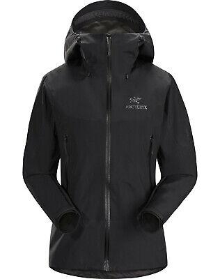 Arc'teryx Beta Sl Hybrid Jacket Women, Gore-tex Paclite Black, Size S, Rrp €380 Dinge FüR Die Menschen Bequem Machen