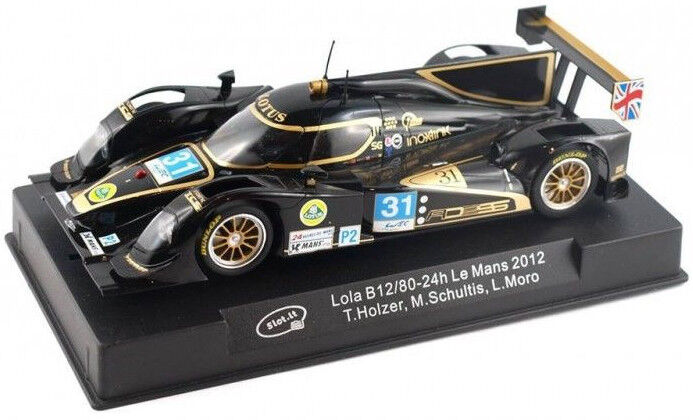 Slot It  Ino-X-link  Lola B12 80 - 2012 24hr Le Mans 1 32 Scale slot Car CA39A