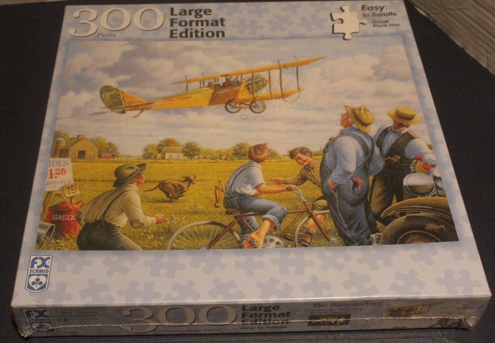 The Barnstormer - 300 piece FX Schmid Large Format Puzzle NIB NEW IN BOX