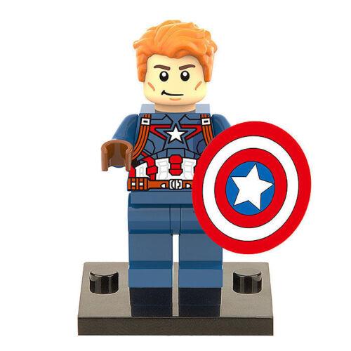 New MARVEL Minifiguren Super Heroes Wasp Black Panther Avengers Mini Figure