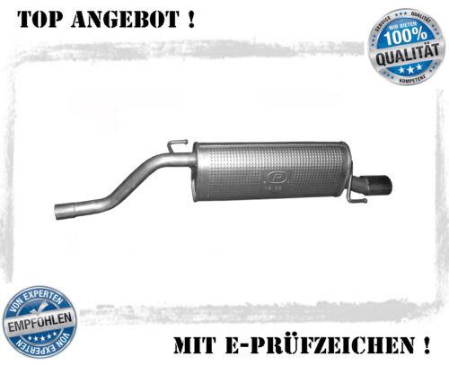 Endschalldämpfer Alfa Romeo Mito 1.4 58//70//77KW Auspuff Endtopf  Montagesatz