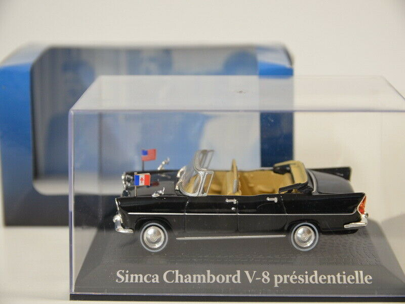Presidential Autos 1 43 Simca Chambord V-8 Presidentielle Atlas 2696 607