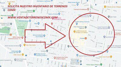 Terreno en venta colonia Albert calle Hamburgo Benito Juarez CDMX