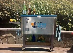 Image Is Loading Bahama Stainless Patio Cooler Ice Chest Tommy
