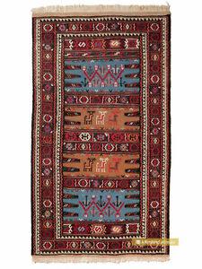 Khorasan-Kurdish-Sumak-Kilim-Rug-173x96cm