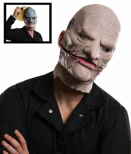 Corey Taylor Mask Slipknot Gray Chapter Tour Halloween Adult Costume Accessory