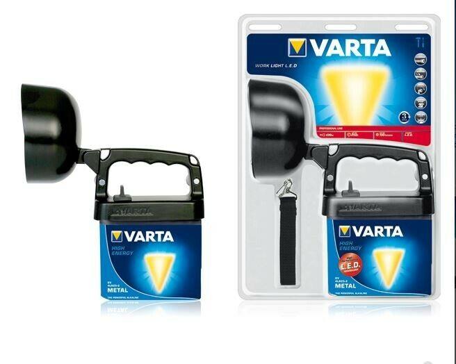VARTA WORK LIGHT LED 18660  Lampada da lavoro a LED PROFESSIONAL LINE