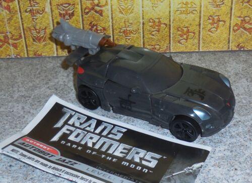 Transformers Dark Of The Moon JAZZ Complete Dotm Deluxe