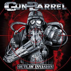 GUN-BARREL-Outlaw-Invasion-CD-2008-Kick-Ass-Power-Rock-039-n-039-Roll-NEW