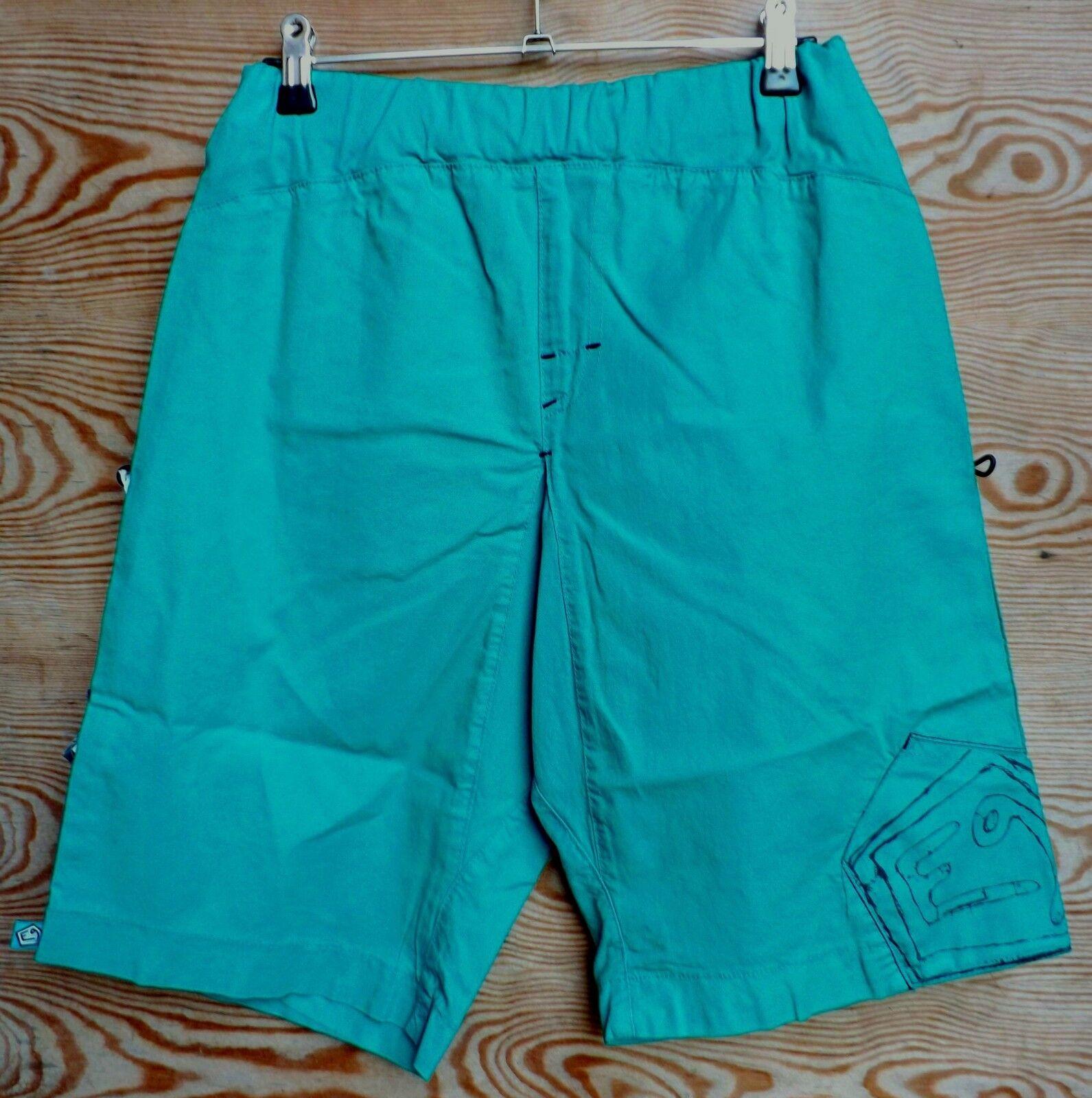 E9 Doblone, Short para Hombre, Menta, Short de Alpinismo, Talla XL