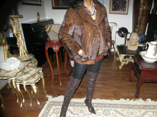 bruine jas bolero m nertsen S bont Uitstekende stijlvolle kPZiuOXTwl