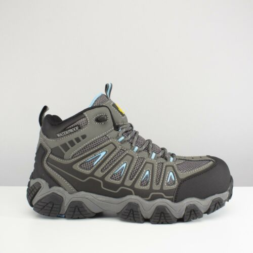 Amblers Safety AS802 Ladies Womens Hiker S3 WR HRO SRA Safety Work Boots Grey