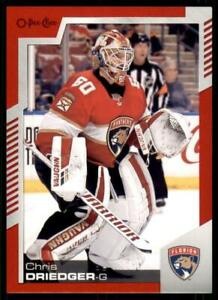 2020-21-UD-O-Pee-Chee-Red-Border-143-Chris-Driedger-Florida-Panthers