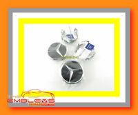Mercedes Wheel Rim Cap Hub Center Cap Set Made In Germany Black